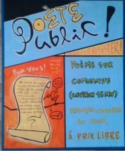 poète public